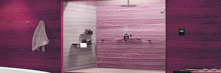 Single-sheet Plastic Bathroom Wall Decor