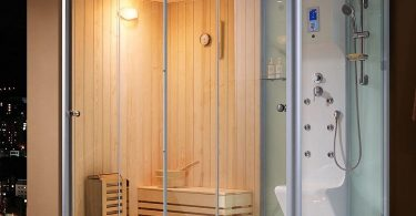 how to build a steam shower