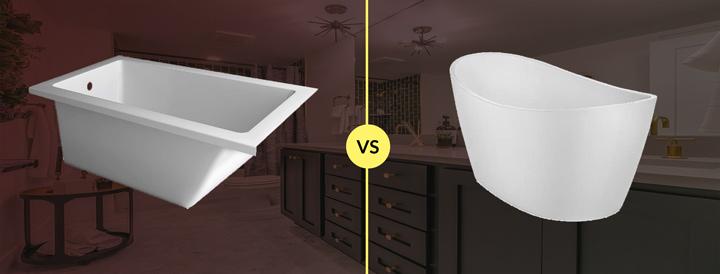fiberglass vs acrylic bathtub