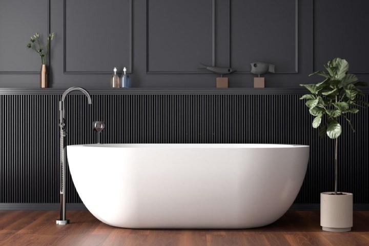 installing a freestanding tub