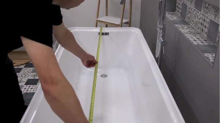 Measure a Bathtub