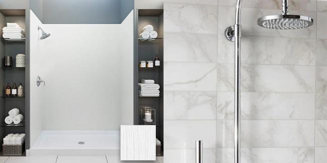Shower Panels Vs Tiles