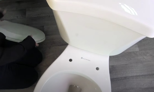 How to install toilet safety rails: Step 3