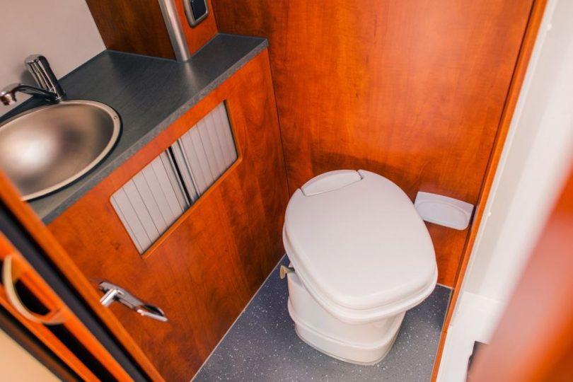 types of rv toilets