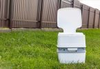 how does a camping toilet work
